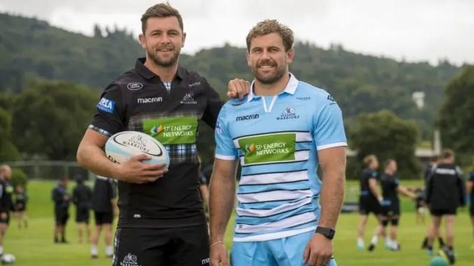 Ryan Wilson and Callum Gibbins
