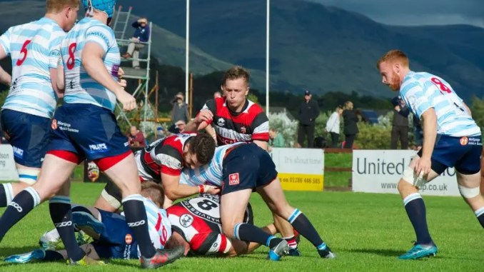 Stirling County v Edinburgh Accies
