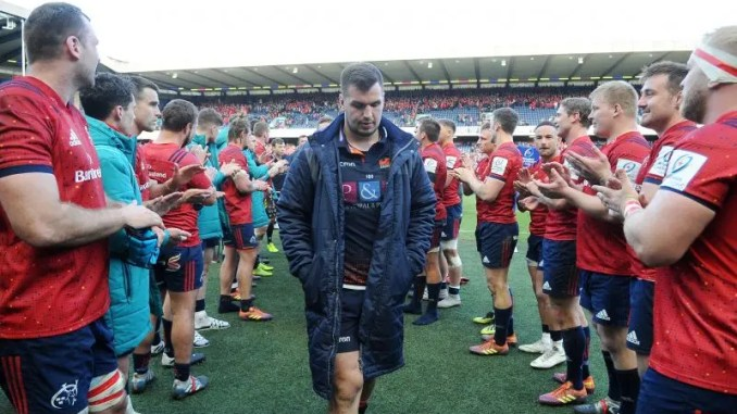 Edinburgh captain Stuart McInally