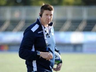 Scotland U20 coach Carl Hogg.