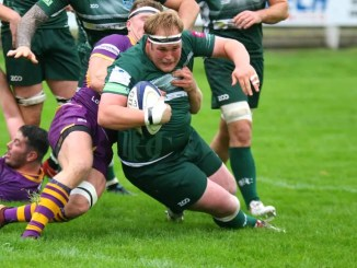 Hawick were well beaten by Marr.