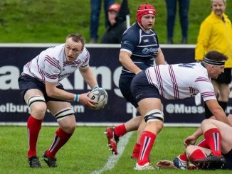 Robin Cessford had a big game in the second-row for Aberdeen Grammar against Musselburgh.