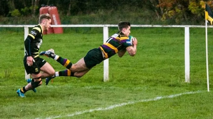 Cartha picked up a big win against Melrose last weekend are looking to double-up on that against Stirling County Wolves on Saturday. Image: Grahame Dunbar