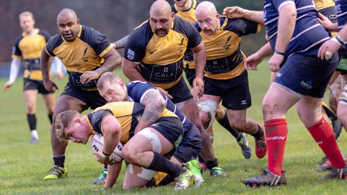 Currie Chieftains overwhelmed Musselburgh at Malleny Park. Image: Fraser Gaffney