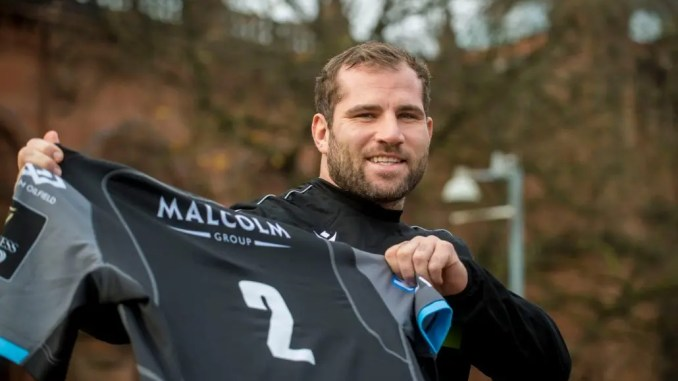 Fraser Brown has signed a three-year deal contract extension with Glasgow Warriors. Image: Craig Watson - www.craigwatson.co.uk