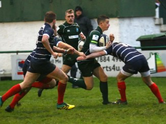 Hawick came out on top against Musselburgh at Mansfield Park. Image: Kenny Baillie