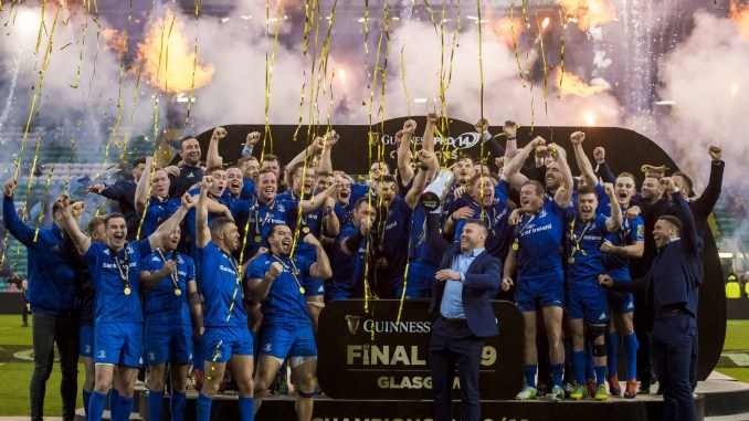 Leinster lifted the last PRO14 title after defeating Glasgow Warriors in the Grand Final at Celtic Park. Image: © Craig Watson - www.craigwatson.co.uk