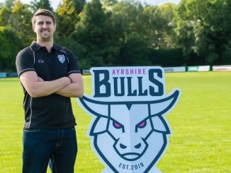 Peter Murchie won the Premiership title with Ayr in his first ever season as a head coach, and now has his sights set on winning the Super6 title with Ayrshire Bulls. Image: Craig Watson