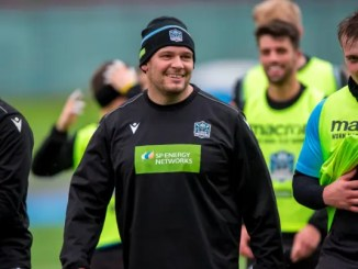 Gordon Reid was training with Glasgow Warriors earlier this week. Image: Craig Watson