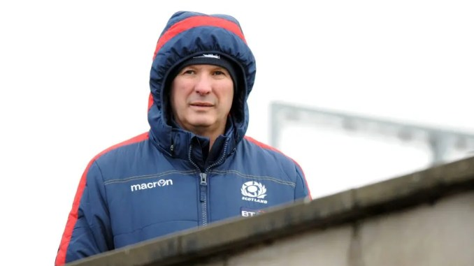 Sean Lineen will team up with his old partner in crime Shade Munro to coach the Scotland Under-19 team against Wales next month. Image: David Gibson/Fotosport