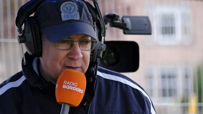 Stuart Cameron, who found himself in the eye of a storm over the weekend, has now been allowed to carry on producing highlights packages of club games. Image: Rob Gray