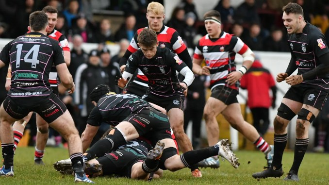 Ayrshire Bulls ran out comfortable winners over Stirling County. Image: George McMillan