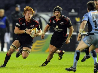 Roddy Grant in action for Edinburgh. Image: David Gibson/Fotosport