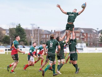 Hawick picked up a bonus-point win away to GHA. Image: Joyce Robinson