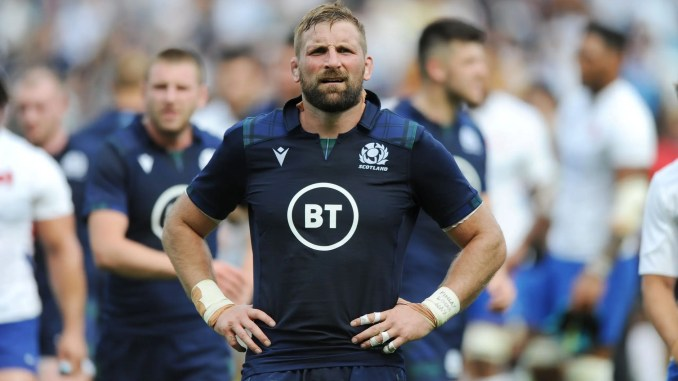 John Barclay has announced his retirement from international rugby. Image: Fotosport/David Gibson