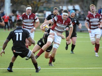 Morgan Inness in action for Watsonians against Southern Knights in round one of this Super6 campaign. Image: Southern Knights. Image: Fotosport/David Gibson