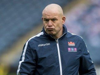 Edinburgh head coach Richard Cockerill knows that nothing is decided in December. Image: © Craig Watson -www.craigwatson.co.uk