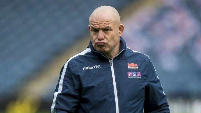 Edinburgh head coach Richard Cockerill knows that nothing is decided in December. Image: © Craig Watson -www.craigwatson.co.uk