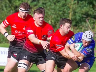 Jed picked up a gritty win against Glasgow Hawks at Balgray. Image: Bill McBurnie