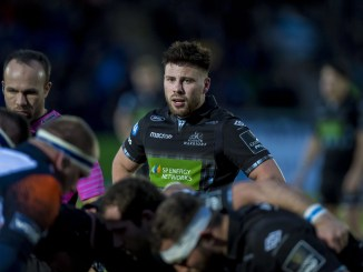 Ali Price in action for Glasgow Warriors against Edinburgh last month. Image: ©Craig Watson