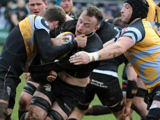 Neil Irvine-Hess scored Southern Knights' second try before picking up a shoulder injury. Image: Fotosport/David Gibson