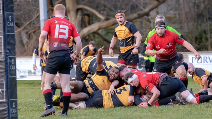 Currie Chieftains secured a convincing win over Glasgow Hawks. Image: Fraser Gaffney