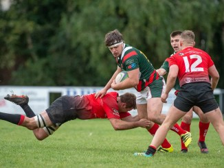 Glasgow Hawks and GHA meet in rearranged Premiership fixture. Photographer: Colin Robinson