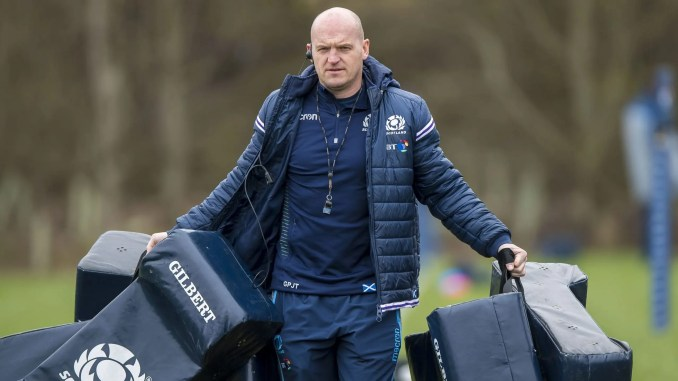 Gregor Townsend will take his Scotland team to Spain for a pre-Six Nations training camp. Image: © Craig Watson - www.craigwatson.co.uk