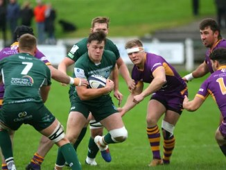 Hawick will hope to keep their rich vein of form going when they visit understrength table-toppers Marr at Fullarton. Image: Kenny Baillie