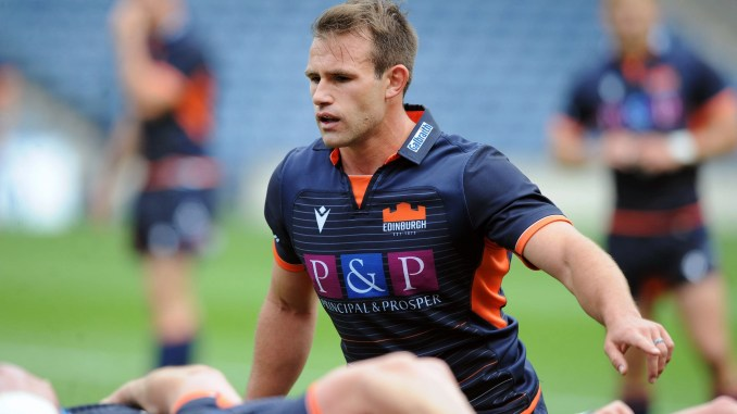 Nic Groom believes Edinburgh should focus on the positives of their defeat in Bordeaux. Image: Fotosport/David Gibson