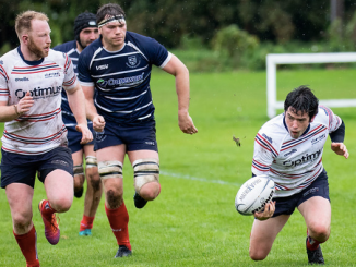Sam Knudson and Greg Ryan played leading roles in Aberdeen Grammar's win over Musselburgh. Image: John Williamson