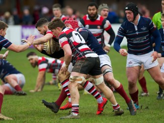 Stirling County toppled top of the table Watsonians. Image: Bryan Robertson