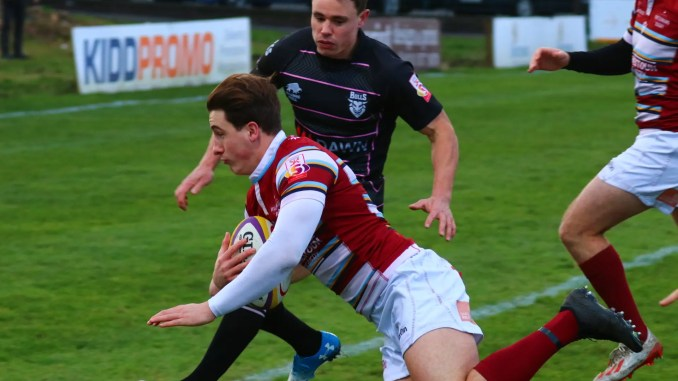 Watsonians defeated Ayrshire Bulls in their Super6 top of the table clash. Image: Graham Gaw
