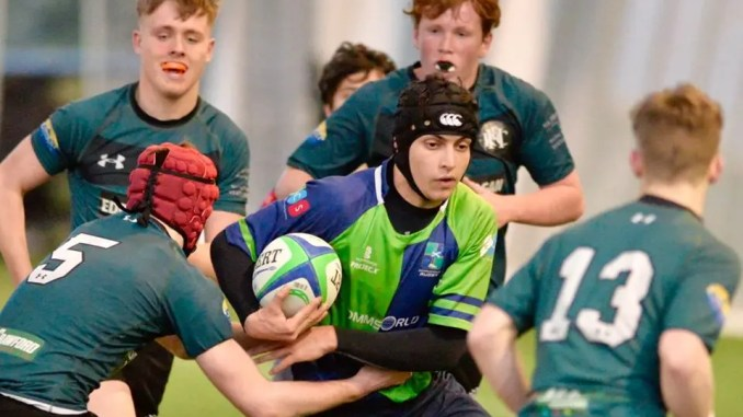 Boroughmuir edged out Hawick Youth in a tense semi-final contest. Image: Boroughmuir RFC