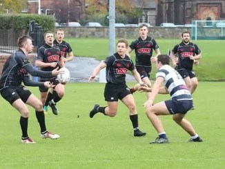 Biggar defeated Heriot's Blues at Goldenacre in November. Image: Nigel Pacey