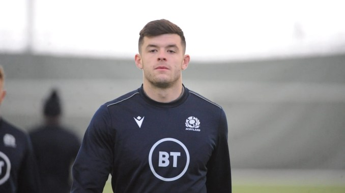 Blair Kinghorn scored a hat-trick against Italy last season, but the whole Scotland team are yet to score a try in this Six Nations. Image: FOTOSPORT/DAVID GIBSON