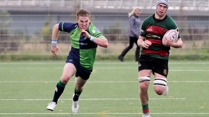 Highland defeated Boroughmuir when the sides last met in October. Image: Owen Cochrane