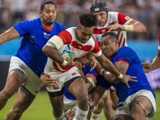 Full-back Kotaro Matsushima is teh first member of Japan's World Cup squad to move to Europe. He will play for Clermont Auvergne next year. Image: © Craig Watson - www.craigwatson.co.uk