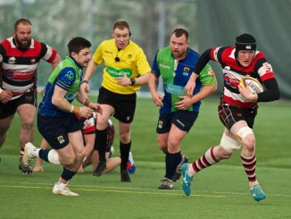 Stirling County edged out Boroughmuir Bears at Oriam. Image: Bryan Robertson