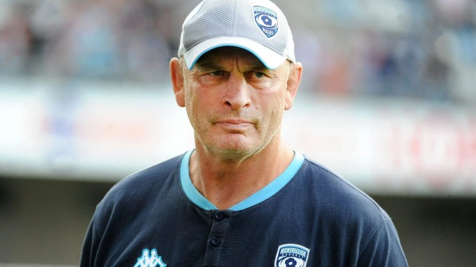 Vern Cotter initially joined Montpellier after leaving Scotland in the summer of 2017. Image: ©Fotosport/David Gibson