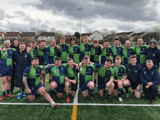 Boroughmuir's squad were all smiles after their win over Gala