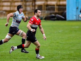 Jamie Sole of Edinburgh Accies and Paddy Boyer of Glasgow Hawks will be key men in a massive relegation showdown at Raeburn Place. Image: John Williamson