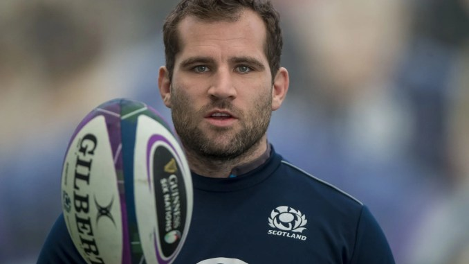 Fraser Brown comes back in to make his 50th Scotland appearance against France. image: © Craig Watson- www.craigwatson.co.uk