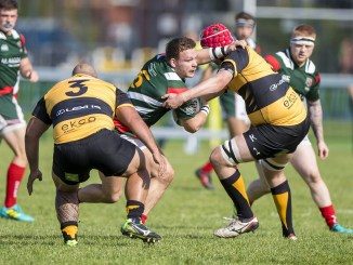 Premiership sides GHA and Currie Chieftains in action earlier this season. Image: © Craig Watson - www.craigwatson.co.uk