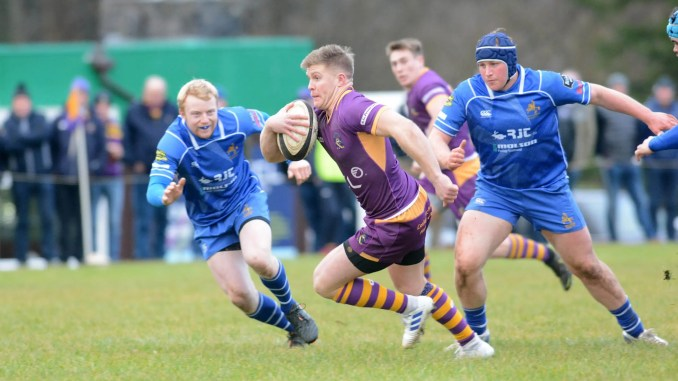 Marr topped the Premiership going into the play-offs but the coronavirus appears to have scuppered their title aspirations. Image: Ken Ferguson