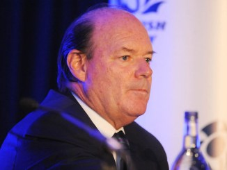Colin Grassie will stand down as Chairman of the Board of Scottish Rugby at August's AGM Image: ©Fotosport/David Gibson