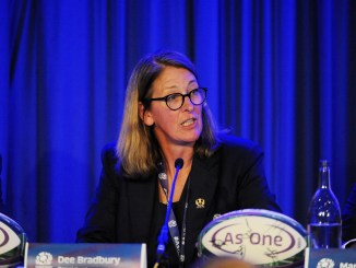 SRU President Dee Bradbury is leading the governance Task Force Image: Fotosport/David Gibson