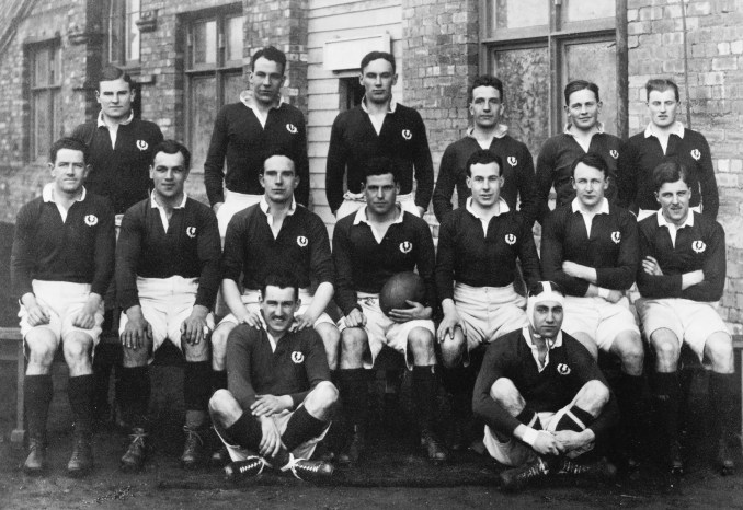 The team which defeated England to claim the 1925 Grand Slam