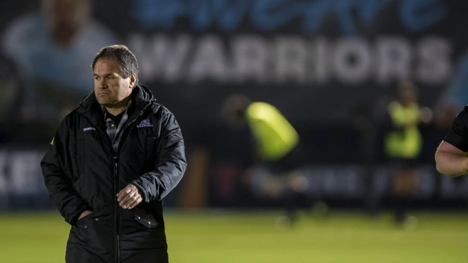 Dave Rennie is off to Australia after three years as Glasgow Warriors head coach. Image: ©Craig Watson