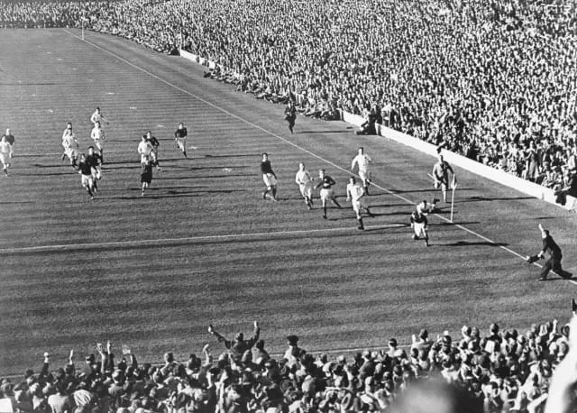Scotland defeated England to claim the Triple Crown in 1938 in what came to be known as 'Wilson Shaw's Match'